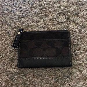 Coach little wallet/ card holder